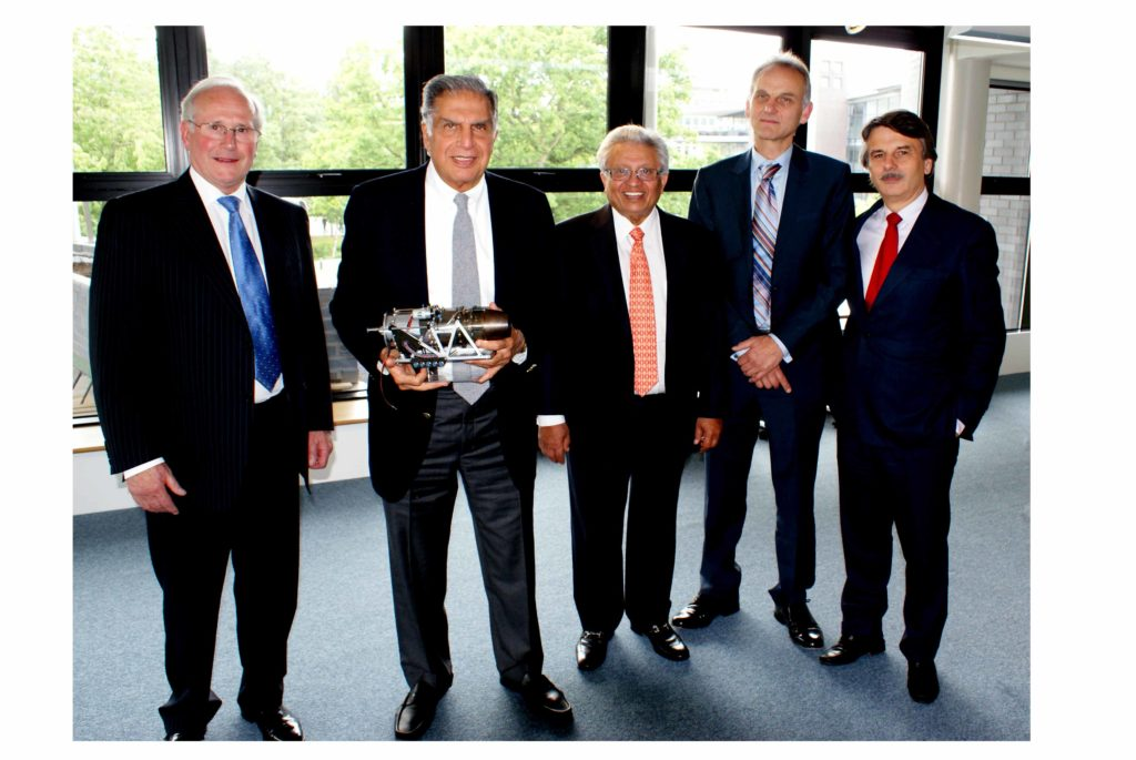 Ratan Tata Working Towards Innovation and Growth