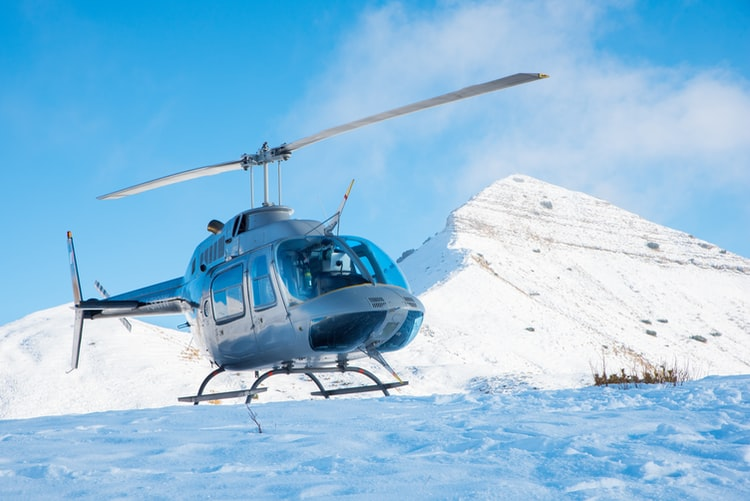 Private Helicopter Ride in Indian Mountains with Ferofly