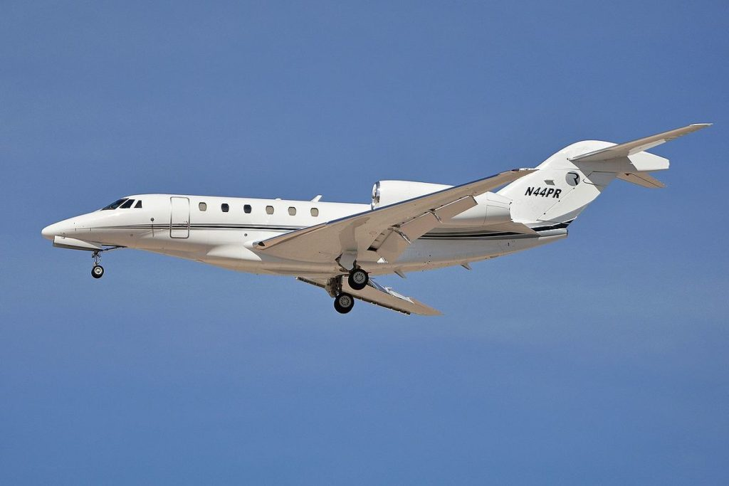 Cessna Citation X+ is the fastest private jet